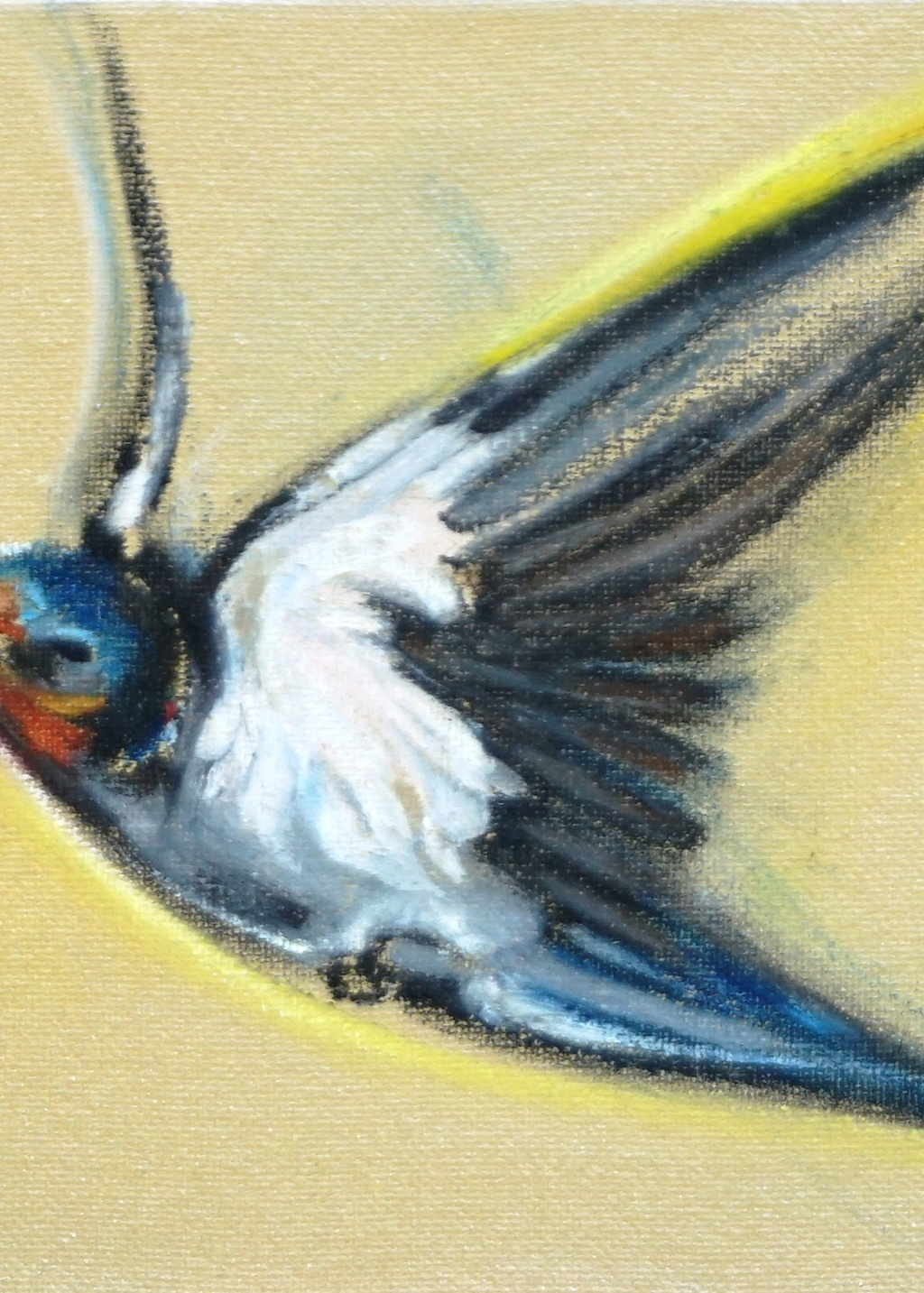 Picture of Sixteen Swallows (fragment 3)