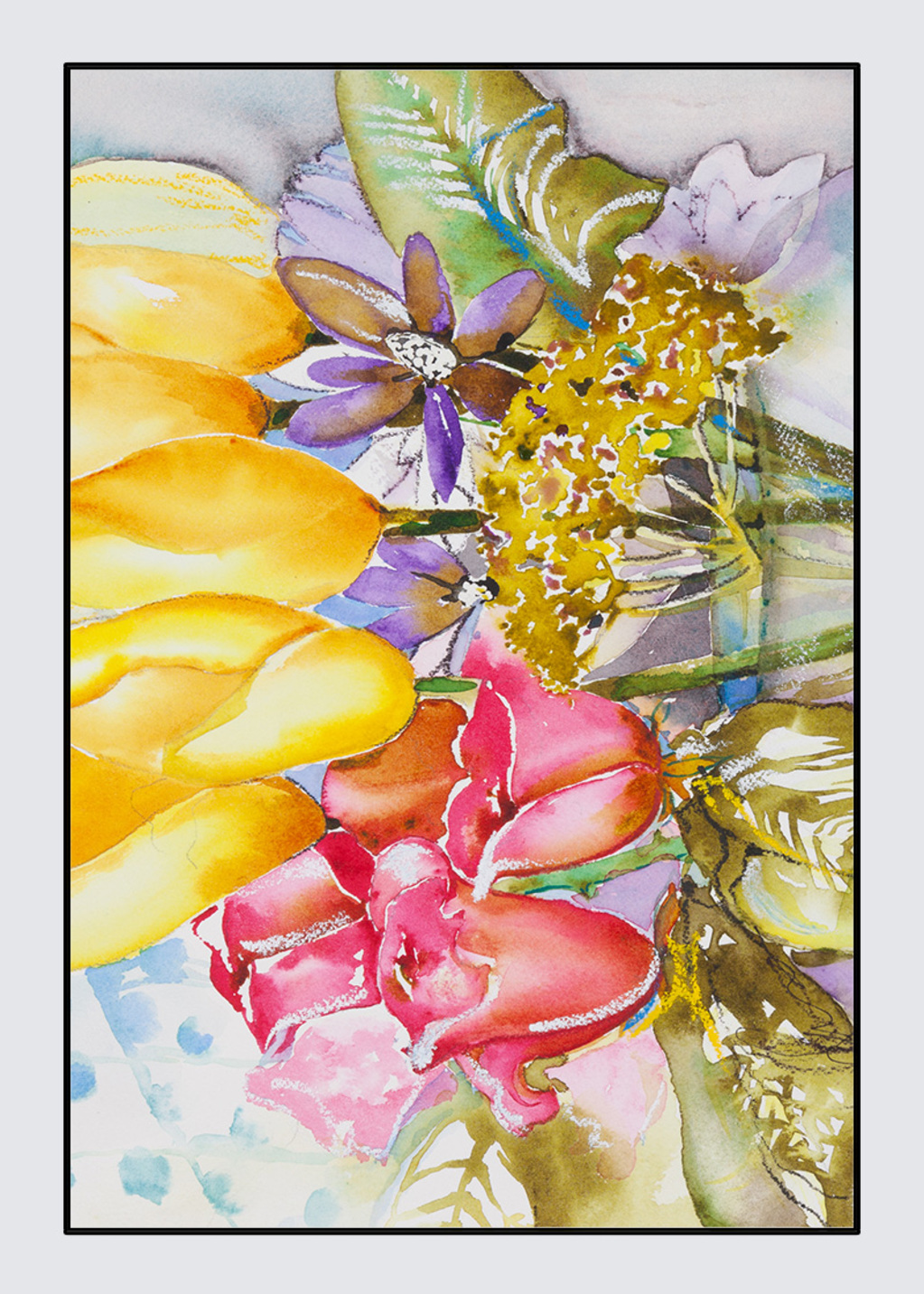 Picture of Tulip time Nina Tablecloth