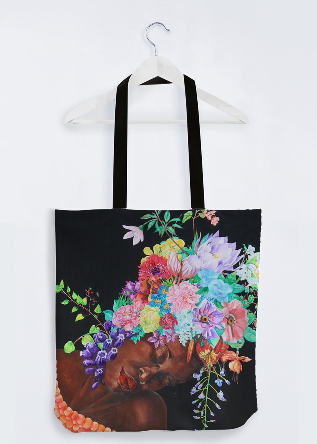 Picture of the language of flowers PP Reuben's Tote