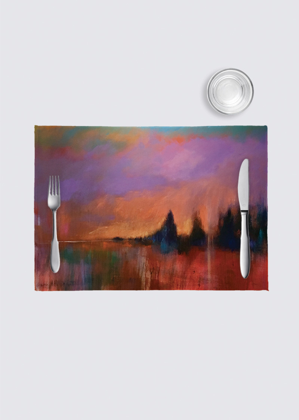 Picture of Coucher Orangé 4 Pack Nino Place Mat