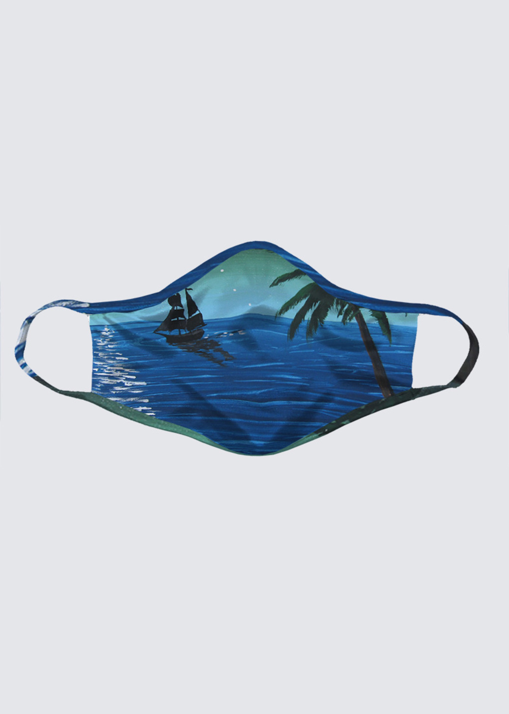 Picture of Caribbean Night Reusable Face Mask (pack of 2)
