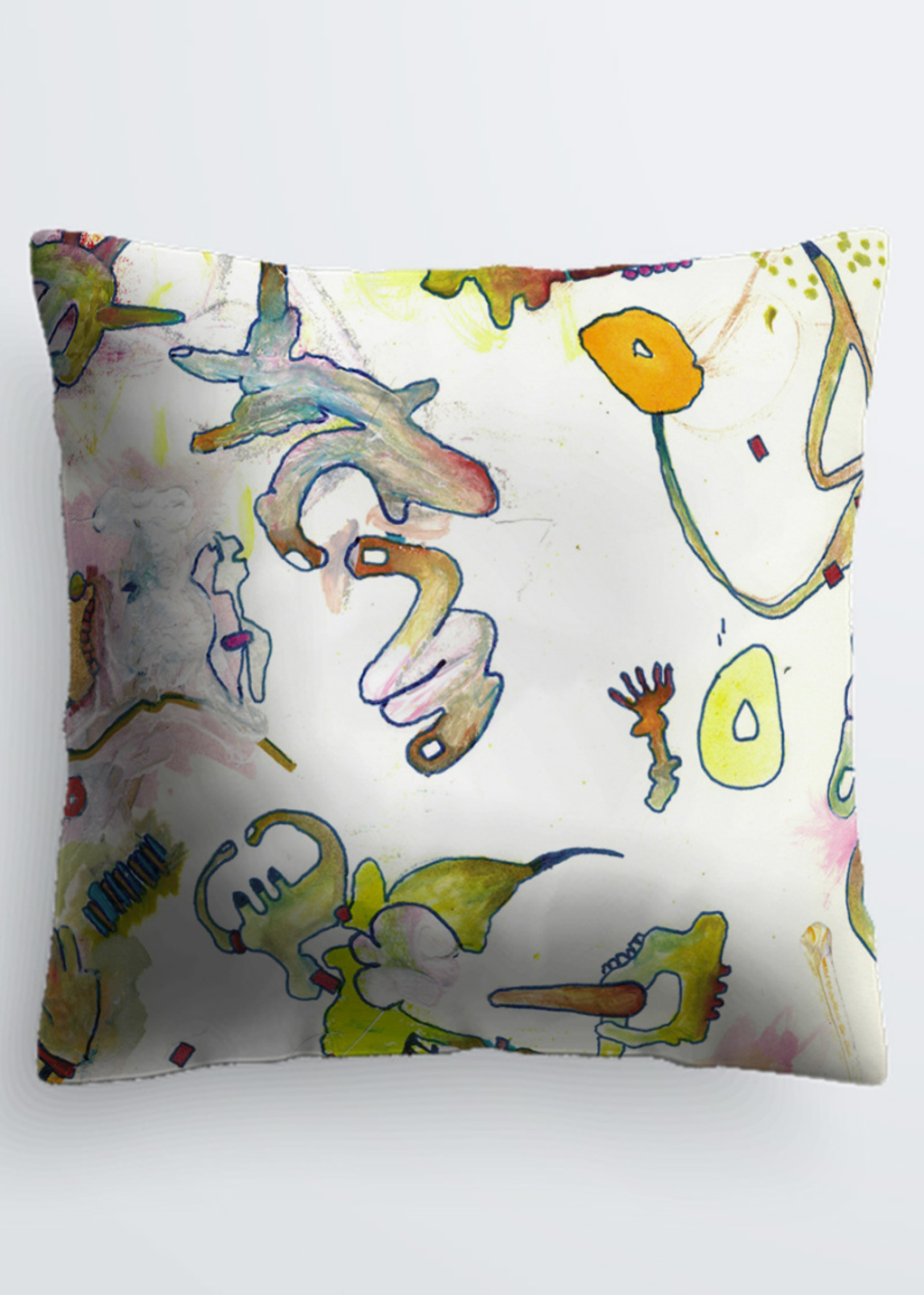 Picture of Sub Basement III Pablo Pillow