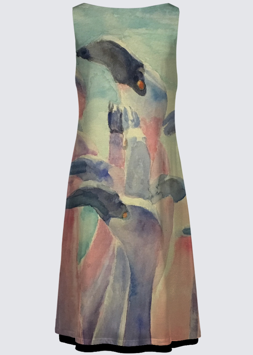 Picture of Flamingoes Kate Reversible Dress