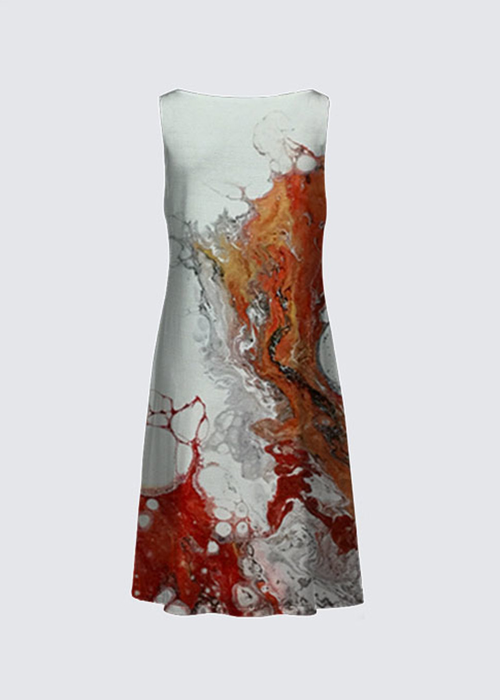 Picture of Corail rouge 3 Kate Dress