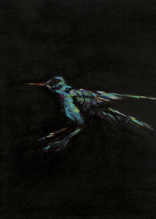 Picture of Blue Hummingbird