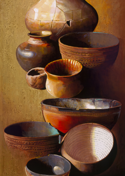 Picture of Indian Pottery