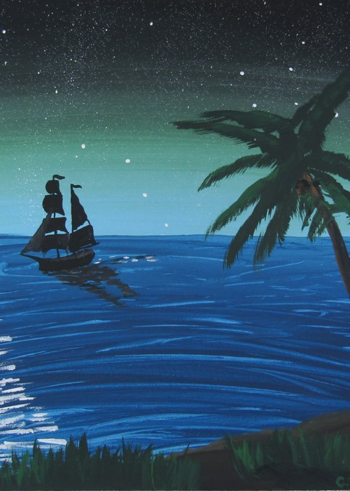 Picture of Caribbean Night