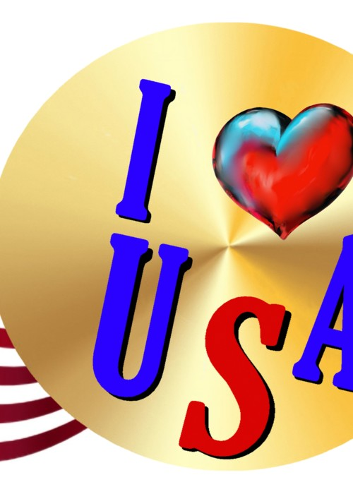 Picture of I love USA