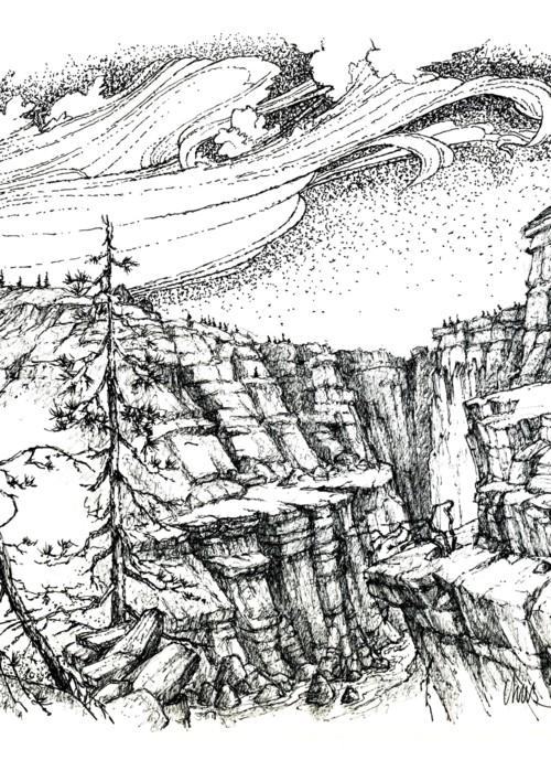Picture of Fantasy Landscape 4