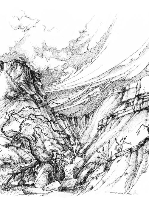 Picture of Fantasy landscape3