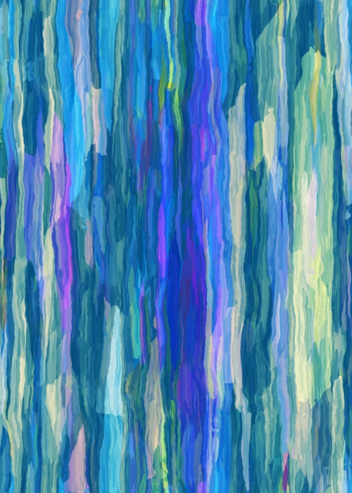 Picture of Blue Green Paint Stripes