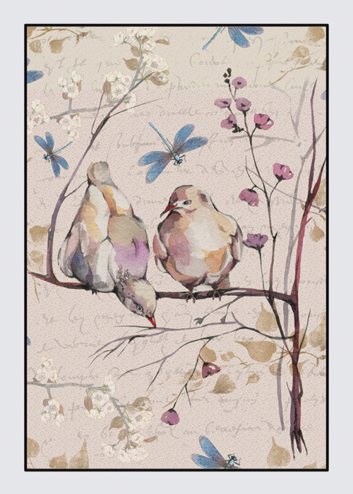 Picture of Doves Nina Tablecloth