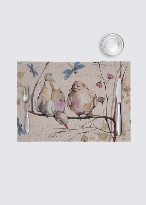 Picture of Doves 4 Pack Nino Place Mat