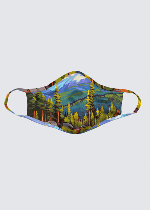 Picture of Whistler Hike I Reusable Face Mask (pack of 2)