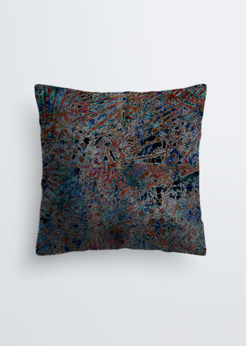 Picture of Atlantis on Fire Pablo Pillow