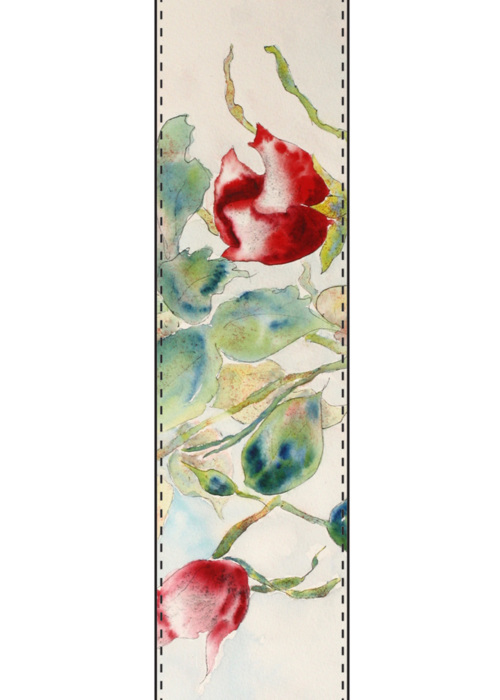 Picture of Grouping of Roses Vivienne Scarf