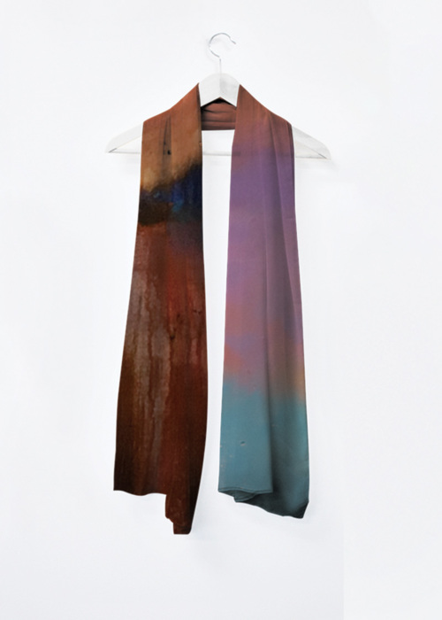 Picture of Coucher Orangé Vivienne Scarf in Knit